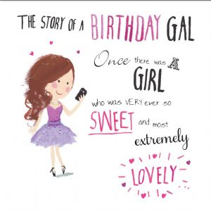 Extremely Lovely Birthday Girl